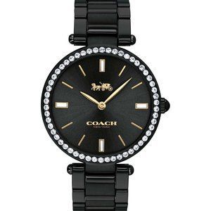 Coach Park Black Dial For Women Watch